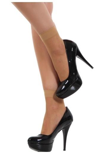 Pierre Cardin 9 Çift  Likralı Soket Çorap Vizon